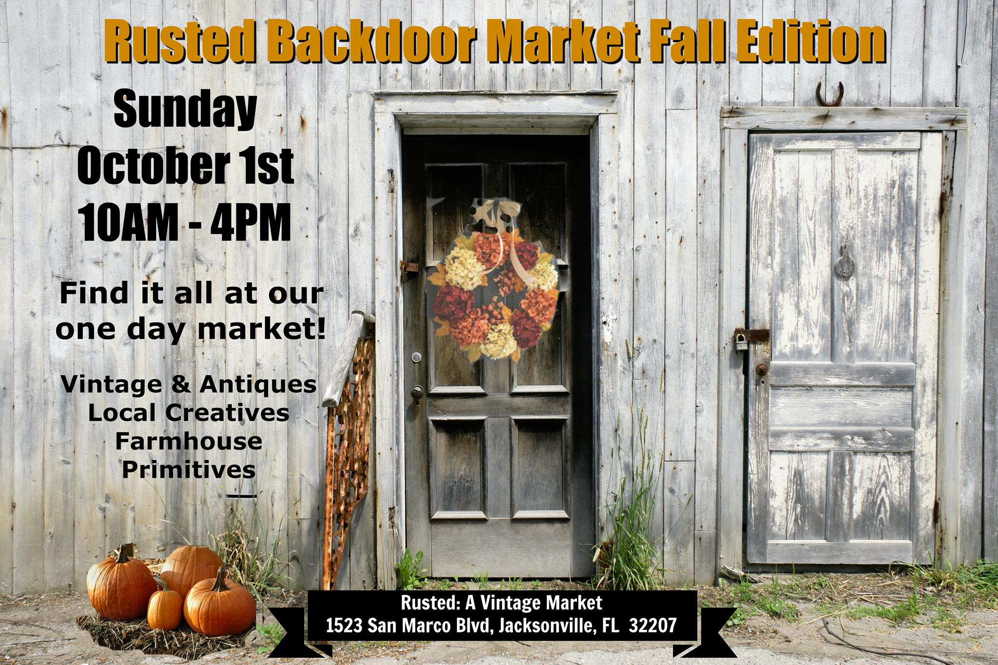 Fall Back Door Market